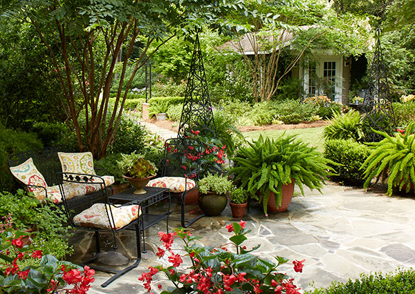Design Ideas For A Shaded Backyard